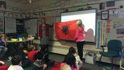 Minnesota elementary school students learn about life in Albania