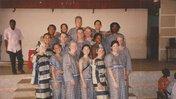 Volunteers in Benin in 2001