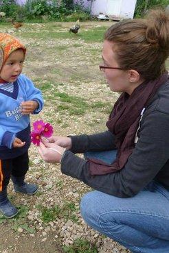 Hailey Holferty served as a youth development specialist in Azerbaijan.