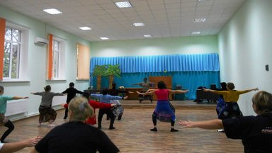 African dance classes at the Public library were a great success