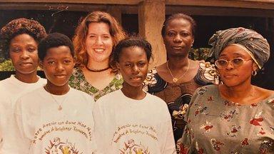 Working with women in Benin