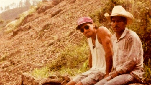 Ketover with a Honduran friend