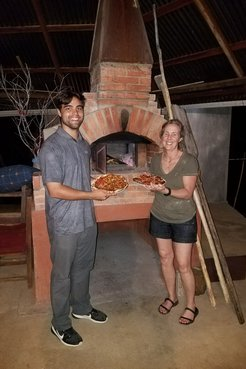 PCV Brian and Co-founder Nancy of Bricks to Bread