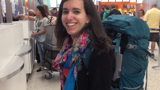 Rachel Chaikof packing