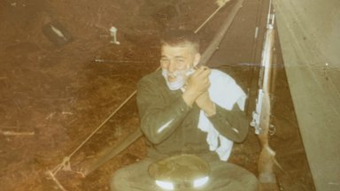 Douglas Crockett at boot camp