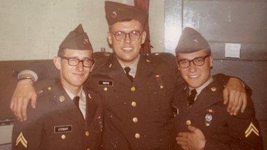 Defense Language Institute roommates at Fort Bliss near El Paso, Texas