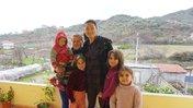 Minju Kim with her host family