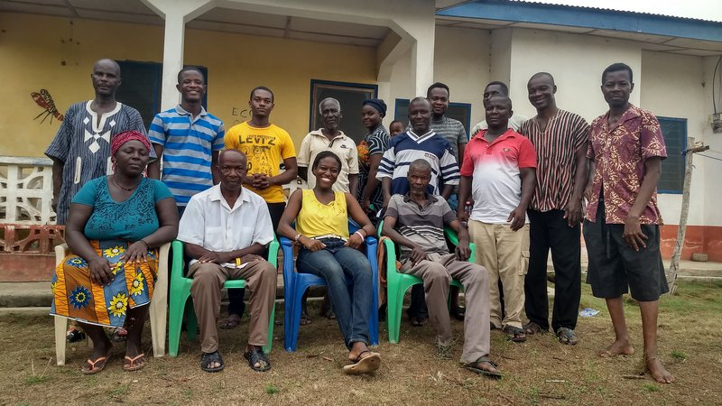 PCV Dani Ohemeng in Ghana