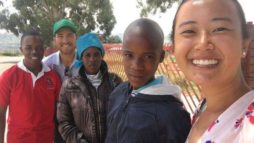 Gao with Lefu's parents