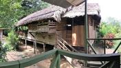 Host family house, Costa Rica, Savannah