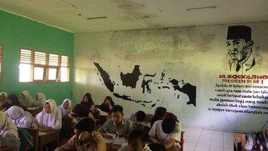 Mural in the class