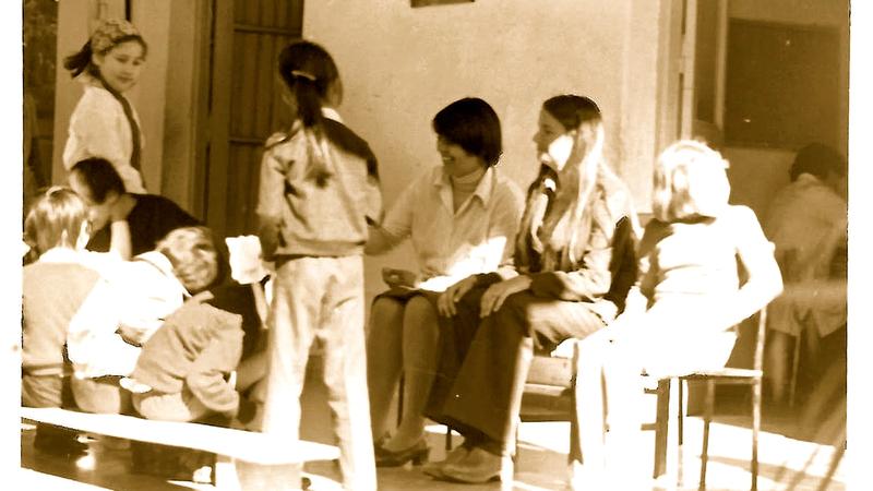 Jean Seigle serving as a Special Education Volunteer in Asuncion, Paraguay