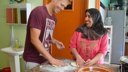 Kabir in the kitchen