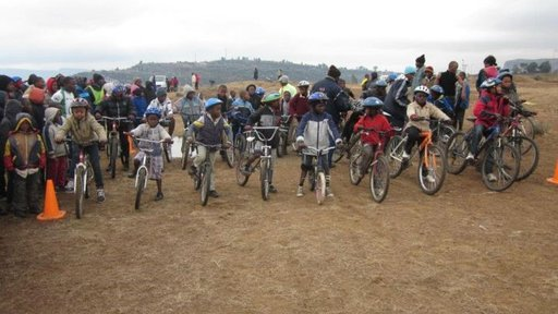 Lesotho bike race