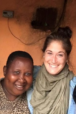 Mama Teresa and Brianna Maltez