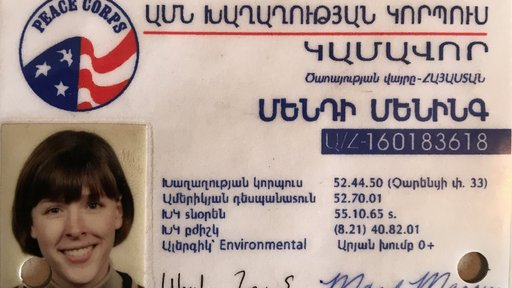 Mandy Manning served as a Peace Corps Volunteer in Armenia.