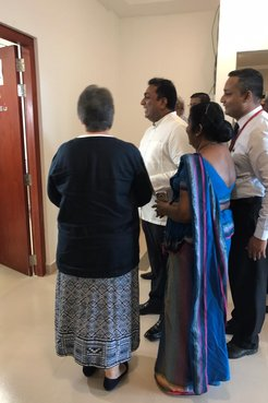 """Minister of Education declares open the Peace Corps Sri Lanka office currently located at the Ministry of Education """"Isurupay"""