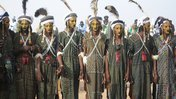 Traditionally dressed men in Niger.