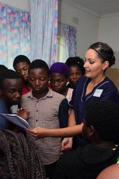 Peace Corps Response Volunteer in Malawi