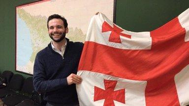 Michael Triozzi as a PCR Volunteer in Georgia