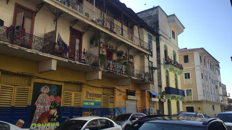 Panama City streets at daytime.