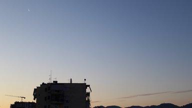 Tirana, Albania - View from Hotel