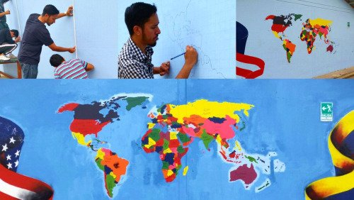 Experiences and lessons learned from the World Map Project