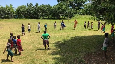 Kids fun activities after the opening ceremony