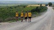 We walked across Moldova