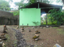 The new renovated center for pregnant women in Nicaragua.