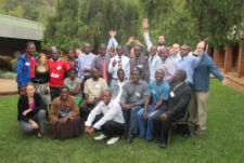 Peace Corps volunteers hosted a five-day seminar for local small business owners in their Malawian community, teaching best practices in business and marketing.