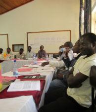 Malawian community members