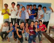 Participants of Camp LION.