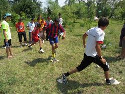 Participants of the 2011 Azerbaijani Boys' Leadership Experience (ABLE) camp.