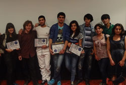 A few of the film festival award winners.