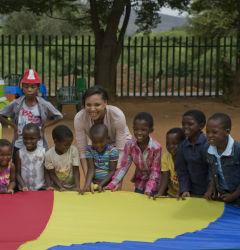 Returned Peace Corps volunteer Jvani Cabiness.