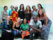 Peace Corps/Burkina Faso volunteers who organized La Grande Foire du Cinquantenaire.