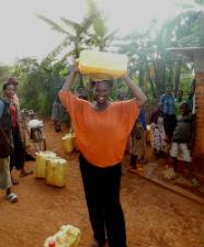 Howard University graduate and Peace Corps volunteer Christina Titus in Rwanda.