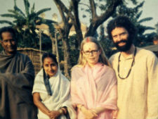 Gerry Copeland in India.