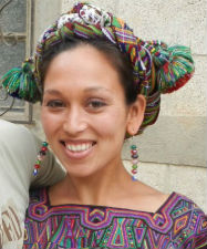 Returned Peace Corps volunteer Jeanne Choquehuanca