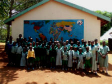 Students at the deaf school who will benefit from Peace Corps volunteer Kelsey Full's project.