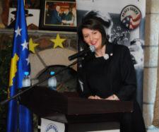 President of Kosovo Atifete Jahjaga