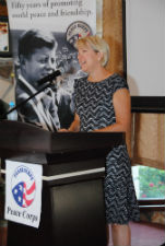Peace Corps Director Carrie Hessler-Radelet