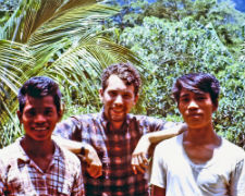 Martin Neft serving in the Philippines in 1968.