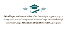Peace Corps Announces 2014 Top Master's International and Paul D. Coverdell Fellows Programs