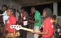 Members of the local music school.
