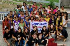 Camp GLOW participants.