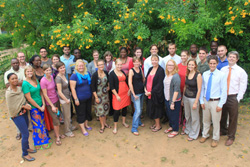 Participants of the Stomping Out Malaria in Africa training.