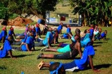 Camp BRO participants