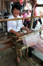 Peace Corps volunteer Ji Kim in Thailand.